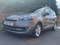 2013 RENAULT GRAND SCENIC 1.5 DYNAMIQUE TOMTOM ENERGY DCI S/S 5d 110 BHP £7000.00