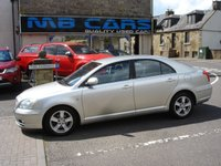 USED 2006 06 TOYOTA AVENSIS 1.8 T3-X VVT-I 5d 127 BHP ONLY 72000 MILES,MOT TILL 23RD MARCH 2020