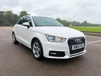 2015 AUDI A1 1.4 TFSI SPORT 3d AUTO 123 BHP £10995.00