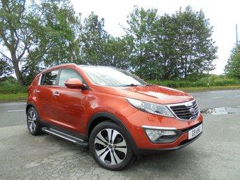 2012 KIA SPORTAGE 2.0 KX-3 5d 160 BHP £9995.00