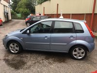 USED 2007 07 FORD FIESTA 1.4 ZETEC CLIMATE 16V 5d 80 BHP Only 53,000 Miles, Pre Sale Service & 12 Mths Mot !!!