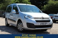 USED 2015 65 CITROEN BERLINGO MULTISPACE 1.6 BLUEHDI FEEL 5d 98 BHP