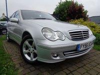 2006 MERCEDES-BENZ C CLASS 2.1 C200 CDI AVANTGARDE SE 4d AUTO 121 BHP £4989.00