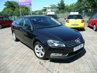 2013 VOLKSWAGEN PASSAT 1.6 S TDI BLUEMOTION TECHNOLOGY 4d 104 BHP £6199.00