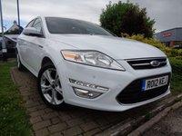 2012 FORD MONDEO 2.0 TITANIUM TDCI 5d AUTO 161 BHP £7489.00