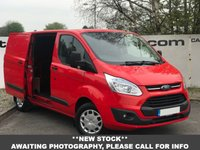 USED 2015 64 FORD TRANSIT CUSTOM 290 2.2 125 BHP LIMITED TWIN SIDE DOORS**OVER 85 VANS IN STOCK**