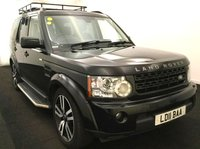 USED 2011 11 LAND ROVER DISCOVERY 4 SDV6 LANDMARK Limited Edition AUTO 7 Seater