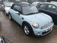 USED 2013 13 MINI CONVERTIBLE 1.6 ONE 2d 98 BHP