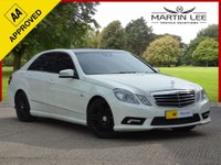 USED 2009 MERCEDES-BENZ E CLASS 3.0 E350 CDI BLUEEFFICIENCY SPORT 4d 231 BHP EXECUTIVE DIESEL AUTOMATIC WITH FULL BLACK LEATHER