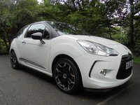 USED 2012 62 CITROEN DS3 1.6 DSTYLE PLUS 3d 120 BHP LONG MOT - EXCELLENT SERVICE HISTORY