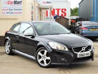 USED 2011 60 VOLVO C30 1.6 D2 R-DESIGN 3d 113 BHP BLUETOOTH | PARKING SENSORS | CRUISE CONTROL