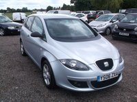 USED 2006 06 SEAT ALTEA 1.6 REFERENCE 5d 101 BHP Part Exchange Priced To Clear.