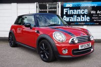 USED 2013 13 MINI HATCH COOPER 1.6 COOPER D 3d  £0 TAX-FULL HEATED LEATHER £4390 Factory Options, Leather Heated Seats, Bluetooth