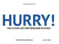 USED 2016 16 JEEP RENEGADE 1.6 LONGITUDE 5d 108 BHP