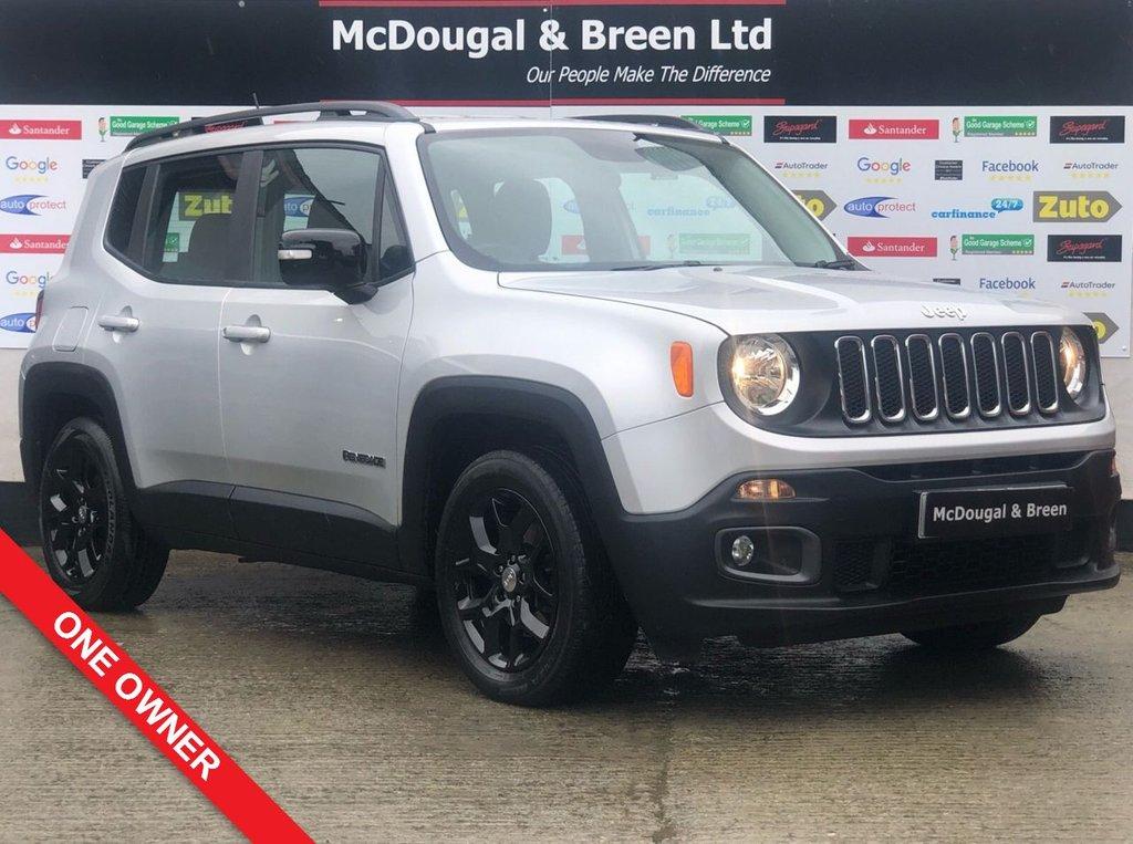 USED 2016 16 JEEP RENEGADE 1.6 LONGITUDE 5d 108 BHP 1 OWNER UPGRADED BLACK GLOSS FINISHED WHEELS