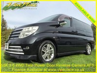 USED 2004 54 NISSAN ELGRAND Rider S 3.5 4WD Auto 8 Seats 54K +54K+4WD+2 POWER DOORS+AFS+FRONT and REAR CAMERA+