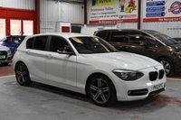 USED 2012 12 BMW 1 SERIES 2.0 116D SPORT 5d 114 BHP