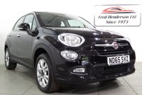 USED 2016 65 FIAT 500X 1.4 MULTIAIR POP STAR 5d 140 BHP Touch screen Uconnect internet, USB / Aux in ports, Phone connectivity, Cruise contol, & more, MPV family 5 door car with electric windows front and rear, heated electric mirrors, ABS assisted braking with traction control, Duel zone climate controlled air conditioning, Fiat uconnect internet media system with radio / CD / USB / Aux in ports / hands free bluetooth phone connectivity, start / stop technology, cruise control with speed limiter, multi fnction leather clad steering wheel, fog lights