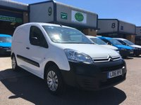 USED 2016 16 CITROEN BERLINGO 1.6 625 ENTERPRISE L1 HDI 1d 74 BHP DAB RADIO, A/C, B/TOOTH, E/W, 6 MONTHS WARRANTY & FINANCE ARRANGED. Recent full service, A/C, E/W, Bluetooth, parking sensors, 3 seats, touchscreen DAB radio, cruise control, SATNAV, facelift new shape model, driver's airbag, factory fitted bulk head, Side loading door, Very Good Condition, 1 Owner, remote Central Locking, Drivers Airbag, DAB Radio, Steering Column Radio Control, Side Loading Door, Barn Rear Doors, spare key, finance arranged on site & 6 months premium Autoguard warranty.
