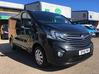 USED 2016 16 VAUXHALL VIVARO 1.6 2700 L1H1 CDTI P/V SPORTIVE ECOFLEX S/S 1d 118 BHP A/C, P/SENSORS, BLUETOOTH, E/W, 6 MONTHS WARRANTY & FINNACE ARRANGED. Recent full service, only 34,000 Miles, A/C, E/W, cruise control, Bluetooth, media connectivity, DAB Radio, rear parking sensors, Drivers airbag, Factory fitted bulk head, Side loading door, Very Good Condition, 1 Owner, remote Central Locking, Drivers Airbag, colour coded, FM Radio, Steering Column Radio Control, Side Loading Door, Barn Rear Doors, spare key, 6 months premium Autoguard warranty on every van & finance arranged