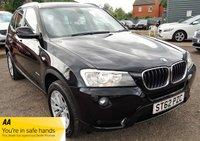 2013 BMW X3 2.0 SDRIVE18D SE 5d 141 BHP £8990.00