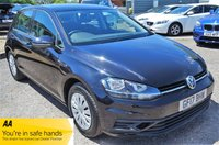 USED 2017 17 VOLKSWAGEN GOLF 1.4 S TSI BLUEMOTION TECHNOLOGY  5d  121 BHP AUDI SERVICE HISTORY MEDIA PACK AIR CON