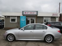 2006 BMW 5 SERIES 2.5 525D M SPORT 4DR AUTOMATIC DIESEL 175 BHP £3980.00