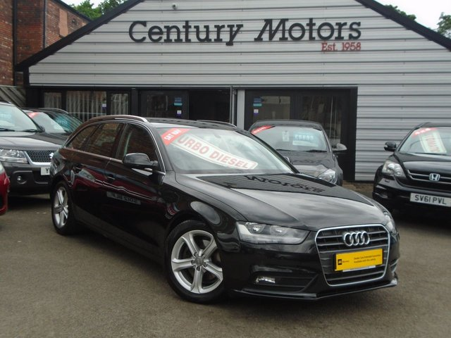 2012 12 AUDI A4 2.0 TDI AVANT SE TECHNIK 5d - LEATHER + SAT NAV