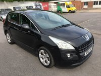 USED 2010 10 PEUGEOT 3008 1.6 SPORT HDI 5d 110 BHP SUPER ECONOMICAL 3008 - CHEAPER TAX - LONG MOT