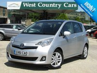 USED 2011 61 TOYOTA VERSO-S 1.3 VVT-I T SPIRIT 5d 98 BHP Reliable MPV