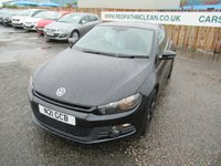 2013 VOLKSWAGEN SCIROCCO GT BLUE MOTION TECH TDi £10995.00