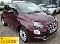 2015 FIAT 500 1.2 LOUNGE 3d 69 BHP £6490.00