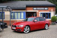 USED 2012 62 BMW 3 SERIES 2.0 320D SPORT 4d 184 BHP Auto Professional Navigation! Leather! Full service history!