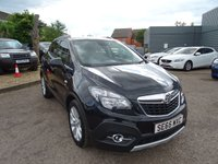 USED 2016 65 VAUXHALL MOKKA 1.6 SE CDTI S/S 5d 134 BHP BLACK LEATHER, AIR CON, SERVICE HISTORY 1 PREVIOUS KEEPER