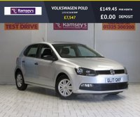 USED 2017 17 VOLKSWAGEN POLO 1.0 S AC 5d 60 BHP