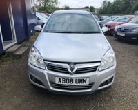 USED 2008 08 VAUXHALL ASTRA 1.8 DESIGN 16V E4 5d 140 BHP NO DEPOSIT AVAILABLE, DRIVE AWAY TODAY!!