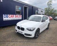 2013 BMW 1 SERIES 2.0 116D SPORT 3d 114 BHP £6295.00