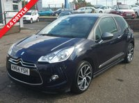 USED 2014 64 CITROEN DS3 1.6 DSTYLE PLUS 3d 120 BHP NO DEPOSIT AVAILABLE, DRIVE AWAY TODAY!!