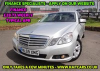 2009 MERCEDES-BENZ E CLASS 2.1 E250 CDI BLUEEFFICIENCY SE 4d 204 BHP £5995.00