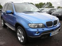 USED 2005 55 BMW X5 3.0 D SPORT 5d AUTO 215 BHP Fsh - Pan roof - Xenons - Sat nav - 2 Previous owners
