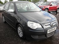 USED 2009 09 VOLKSWAGEN POLO 1.4 BLUEMOTION 2 AC TDI 5d 79 BHP FSH - Free rd tax - 1 Previous owner