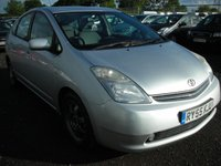 USED 2006 55 TOYOTA PRIUS 1.5 T SPIRIT VVT-I 5d AUTO 77 BHP 1 Previous owner - Sat nav