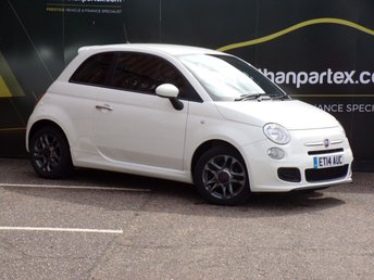2014 FIAT 500 1.2 S DUALOGIC 3d AUTO 69 BHP £7500.00