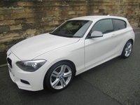 2014 BMW 1 SERIES 1.6 116I M SPORT 3d 135 BHP £11000.00