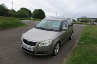 USED 2006 56 SKODA ROOMSTER 1.9 3 TDI 5d 103 BHP Alloys,Air Con,Glass Roof