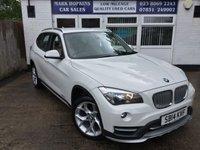 2014 BMW X1 2.0 XDRIVE18D XLINE 5d AUTO 141 BHP £12995.00