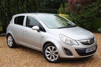 USED 2012 12 VAUXHALL CORSA 1.2 ACTIVE AC 5d 83 BHP MOT INTO APRIL 2020 - READY TO DRIVE AWAY