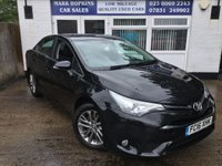2016 TOYOTA AVENSIS 2.0 D-4D BUSINESS EDITION 4d 141 BHP £11995.00