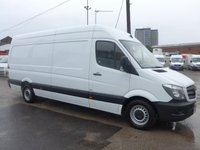 USED 2016 66 MERCEDES-BENZ SPRINTER 314CDI LWB, 140 BHP [EURO 6]