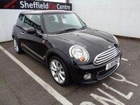 2011 MINI HATCH ONE 1.6 ONE 3d 98 BHP £4675.00
